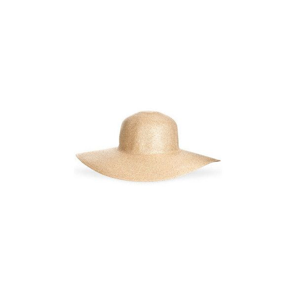Lurex Floppy (460 EGP) ❤ liked on Polyvore featuring accessories, hats, cappelli, beach hats, floppy sun hat, flop hat, floppy beach hat, sun hat and floppy hat