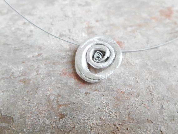 Nature Necklace. Handmade Choker. Contemporary by Kairajewelry