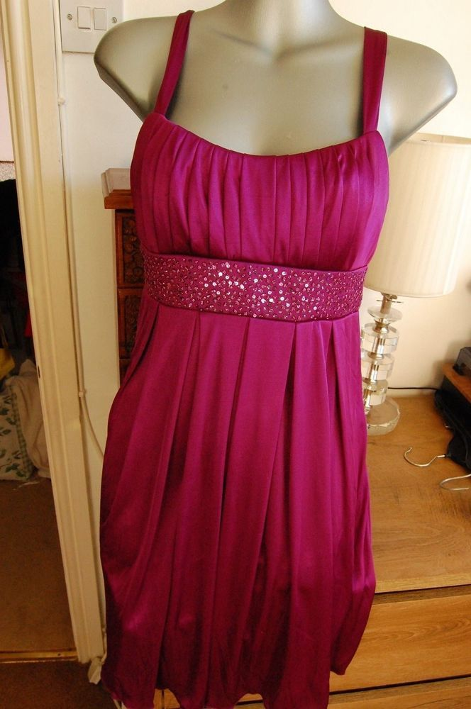 Love tease purple Christmas party dress Tk Maxx size M 10/12