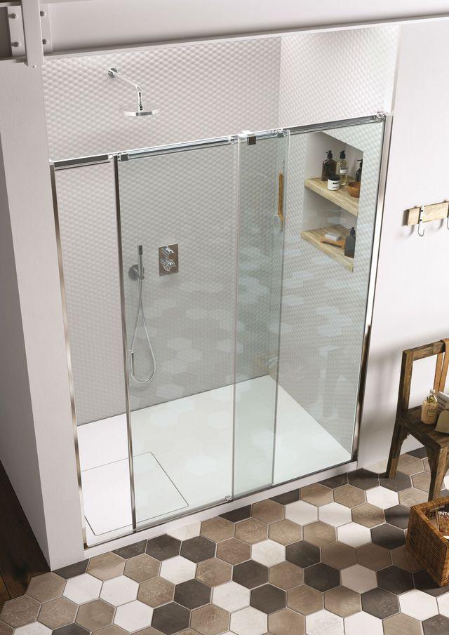 les 25 meilleures id es de la cat gorie douches en verre sur pinterest douches portes de. Black Bedroom Furniture Sets. Home Design Ideas