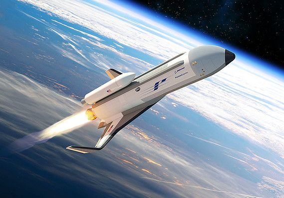 Private companies are betting that they can build 'space planes' to get you from New York to London in 40 minutes.