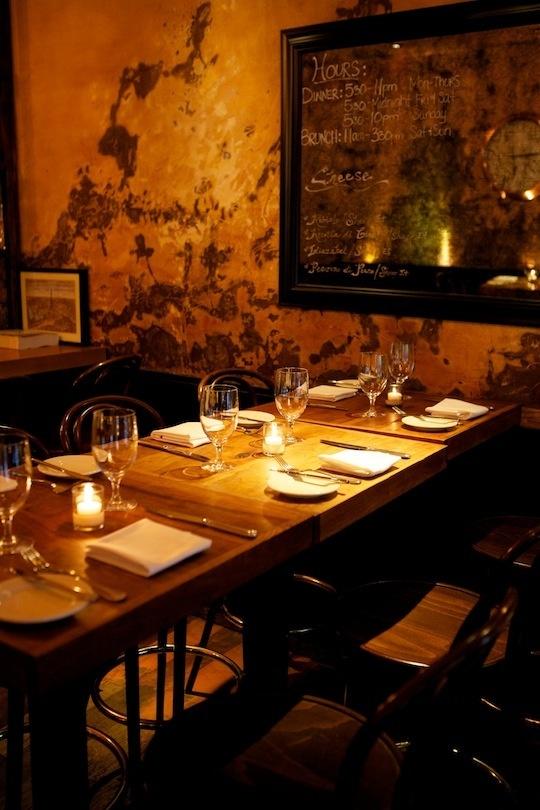 August Restaurant. So yummy!