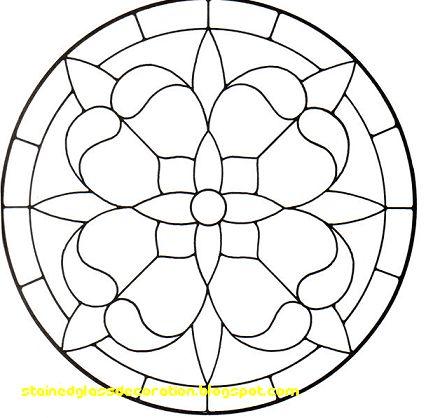 Comparar los patrones del vitral Patrones-Fuente del vitral por