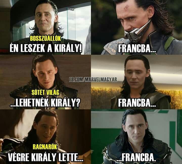 Loki és az uralkodás kalandos története.♥♥♥