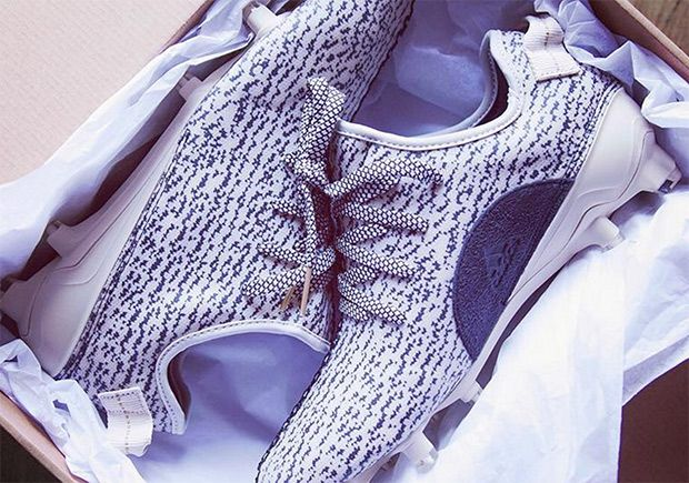 "#sneakers #news  Check Out The adidas Yeezy Boost 350 ""Turtle Dove"" Football Cleats"