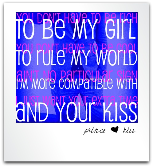 Prince - Kiss - Lyrics