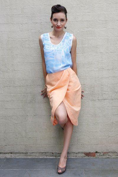 lantau skirt (coral)