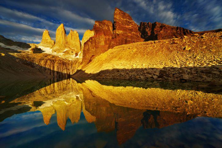 Torres del Paine (Patagonie, Chili)