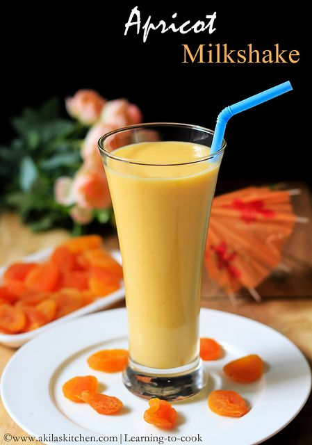 apricot milkshake   Dried Apricot Milkshake   Milkshake recipes   Healthy Milkshakes   health benefits of Apricot   Dried Fruits Milkshake   milkshakes for breakfast