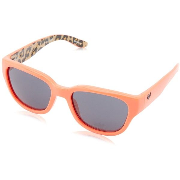 Fox Women's The Eden Rectangular Sunglasses ($53) ❤ liked on Polyvore featuring accessories, eyewear, sunglasses, rectangular lens sunglasses, fox glasses, rectangle glasses, fox sunglasses and lens glasses