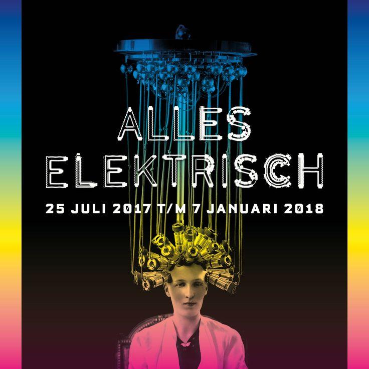 Exhibition poster Alles elektrisch