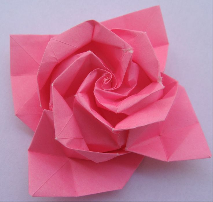 The 25+ best Origami rose ideas on Pinterest | Origami ... - photo#31