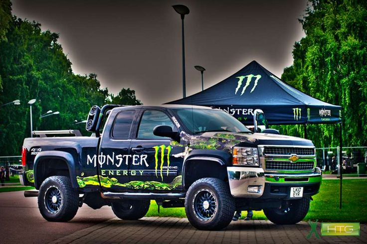 Monster Energy Drink Car Seat Covers