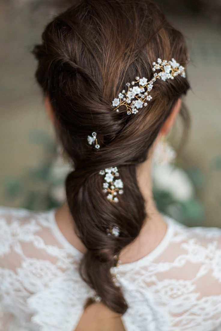 234 best gorgeous wedding hair images on pinterest | hairstyles