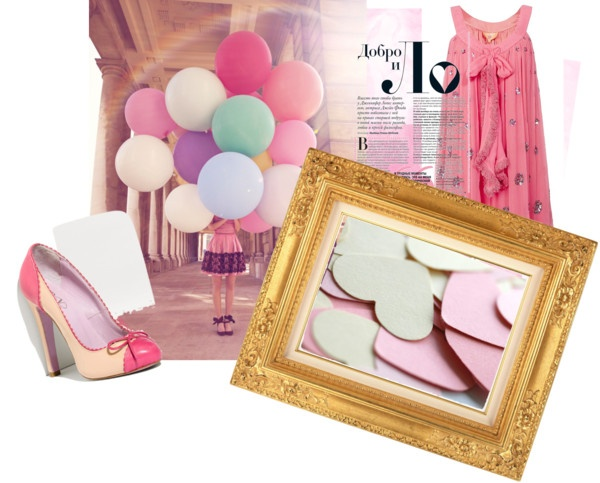 """""""Pretty in Pink"""" by alicia-king on Polyvore"""