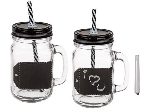 Trinkglas zum Beschriften