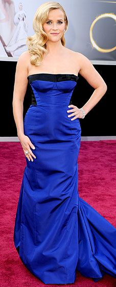 Reese Witherspoon sported head-to-toe Louis Vuitton at the 2013 Oscars.