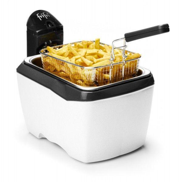 Friteuse Frifri 905W Friteuse pratique grâce à son format rectangulaire, la friteuse Frifri 905W offre également un entretien facile (100% démontable).