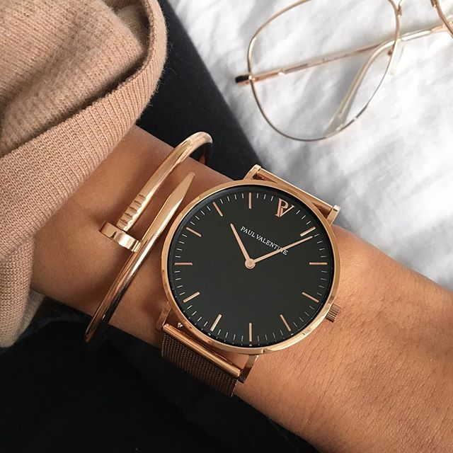Paul Valentine Watches. High quality, minimalist, watches crafted with a refined…