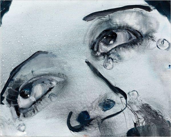 Marlene Dumas - Glass tears