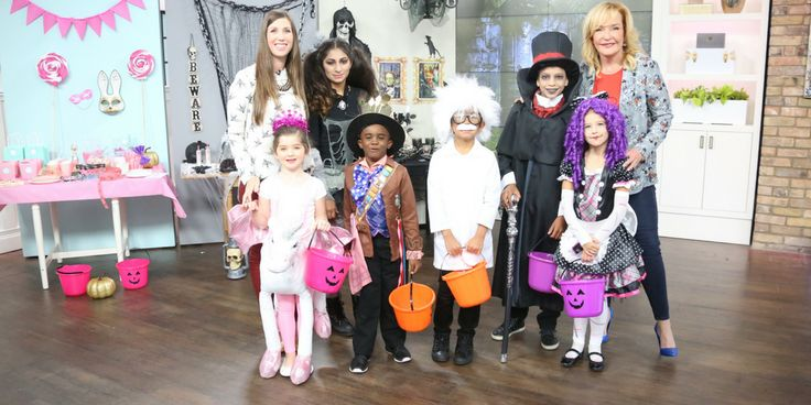 Carolyn's Kids Talent Eli & Aayushi had a blast on set of The Marilyn Dennis Show for the Halloween Costume Episode.