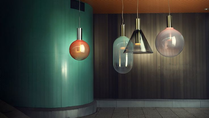 Dezeen promotion: Czech brand Bomma has released its new collection of glass lighting, which includes a bondage-inspired lamp and a pendant modelled on soap bubbles.