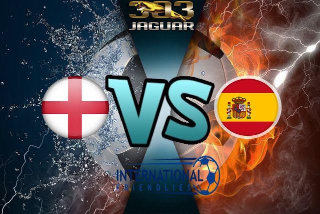 Skor akhir Inggris vs Spanyol: 2-2