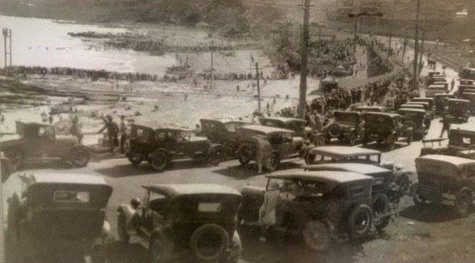surf fest - 1930s style Newcastle NSW