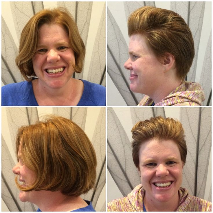 Hair by Kendra. A bob cut into a more edgy, playful pixie cut. To book an appointment with Kendra, call (780) 467-3288 or visit our website at www.sylviaco.com. Located in Sherwood Park, Alberta, Canada.