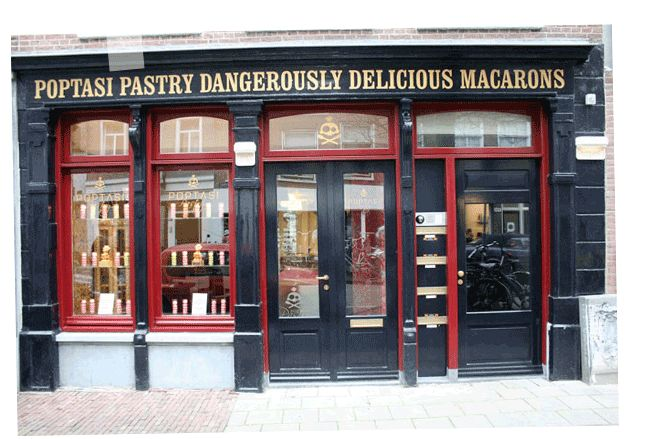 Poptasi Pastry Dangerously Delicious Macarons #food #glutenfree #amsterdam