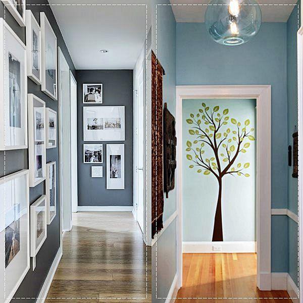 22 ideias para decoração de corredores