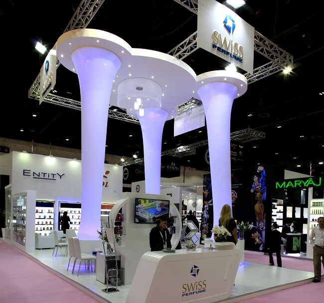 D Printing Dubai Exhibition : Customize designs for award winning exhibitionstand in
