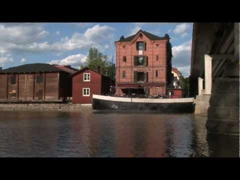 Summer of Porvoo in Finland
