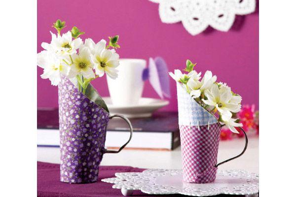 Ideias para decoração: Faça você mesmo vasos reinventados | SuaCidade.com