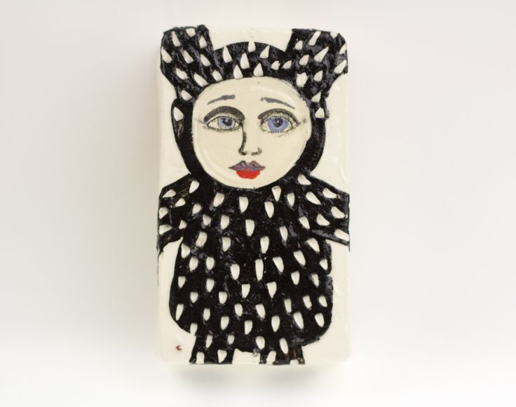 ceramic wall hanging . TheClayPlay by Annemette Klit. 2014