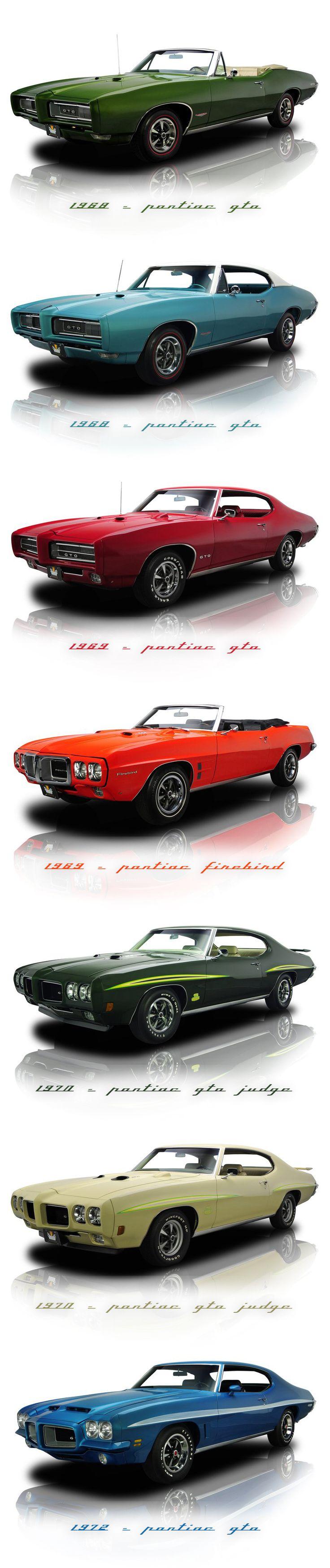 Pontiacs 1960-1979.