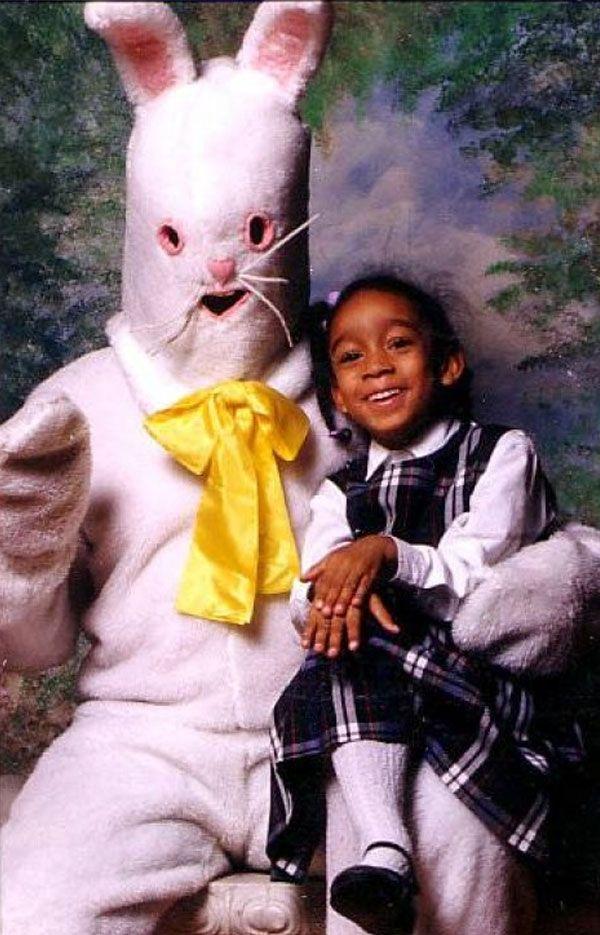 Bilderesultat for old creepy easter bunny