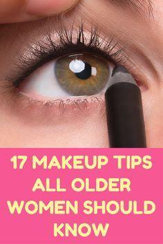 17 Makeup Tips All Older Women Should Know.