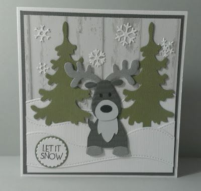 Maria's kaartjes: Hohoho en let it snow