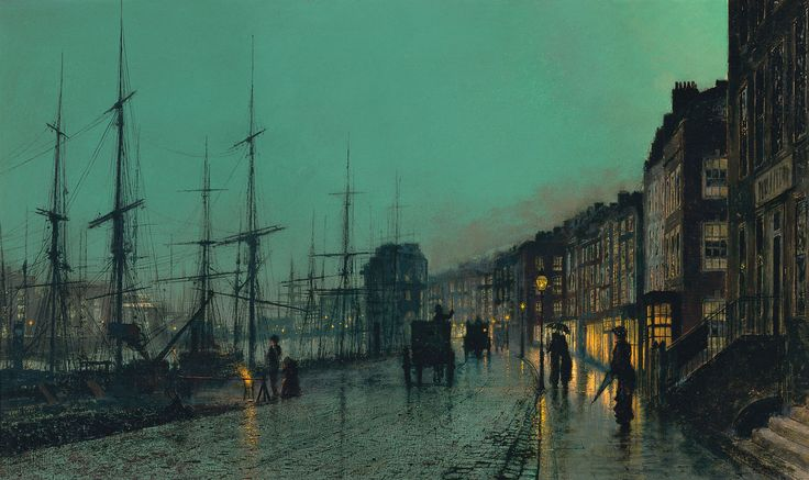 Shipping on the Clyde (John Atkinson Grimshaw, 1881)