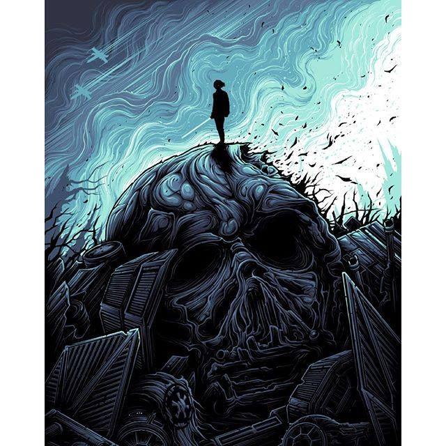 """I am a Jedi, like my father before me."" by Dan Mumford"