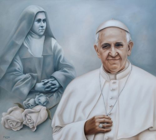 el blog del padre eduardo: Francisco Bergoglio y Teresa de Lisieux