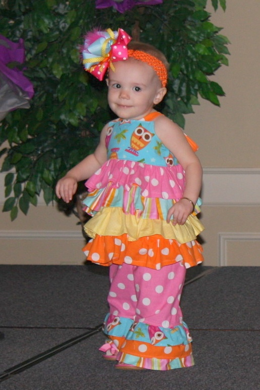 Another pin by Angel :)  Love the owl outfit Jenna at One Blessed Mama made for her pageant. She got Best WOW Wear