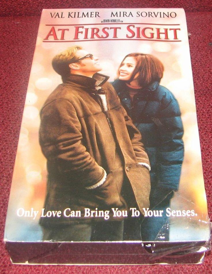 At First Sight (VHS, 1999) Mira Sorvino, Val Kilmer PG-13  SEALED!