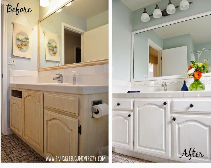 bathroom vanity makeover bathroom vanities bathrooms makeover before