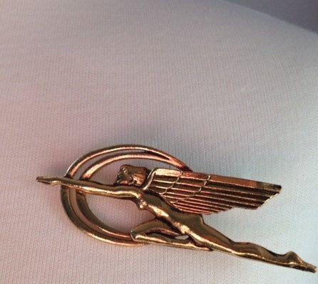 Mid '80s Art Deco style vintage winged Artemis/Diana by MrsJoyful, $27.00