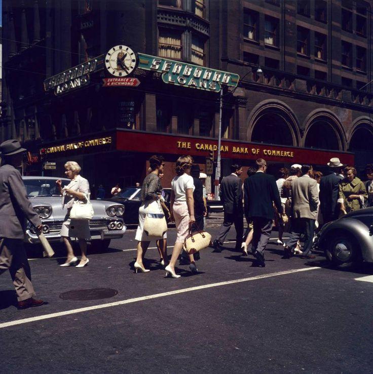 Street Scene, Toronto, Ontario, September 1961