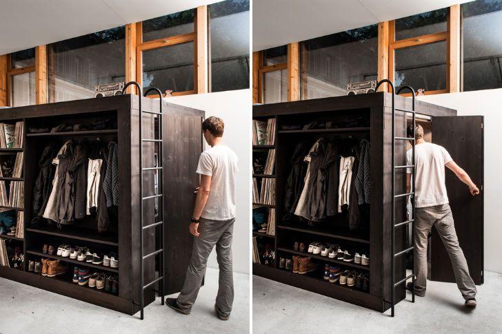 Living Cube Furniture, Black Box, multi-functional furniture, Till Könneker, Remo Zimmerli, green interiors, green furniture