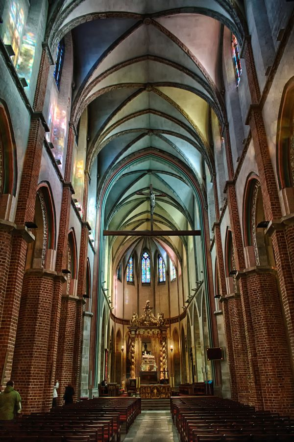 Katedra Gnieźnieńska by Jacek Gadomski, via 500px - Cathedral Basilica of the Assumption of the Blessed Virgin Mary and St. Adalbert in Gniezno, Poland