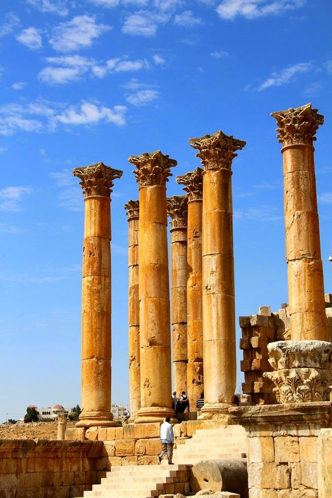My lifestyle: Jordanienrundreise,Gerasa - City of Jerash